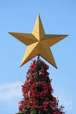 Photograph - Christmas Star by George Atsametakis