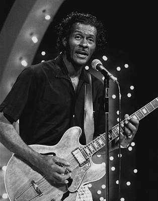 Chuck Berry Wall Art - Photograph - Chuck Berry by Retro Images Archive