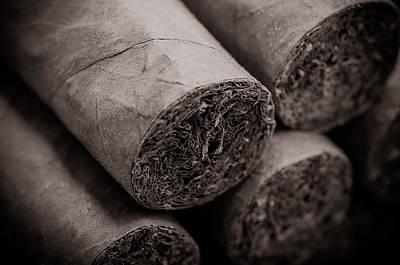 Cigars Art Print by Brandon Bourdages