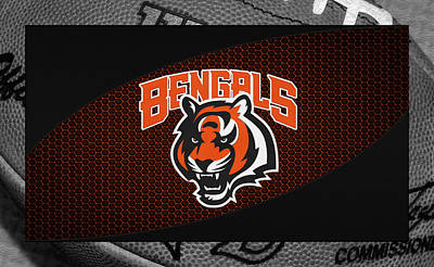 Cincinnati Bengals Art Print by Joe Hamilton