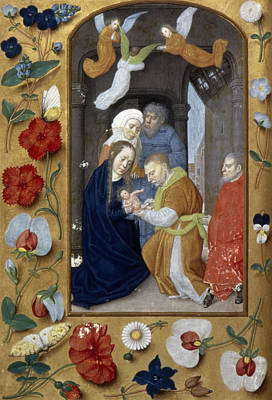 Painting - Circumcision Of Christ by Granger