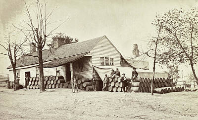 Photograph - Civil War Commissary by Granger