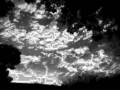 Etc. Digital Art - Clouds by HollyWood Creation By linda zanini