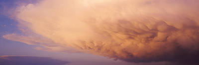 Pastel Sunset Photograph - Clouds by Panoramic Images