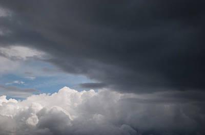 Clouds Art Print by Yoann Jean-Montcler
