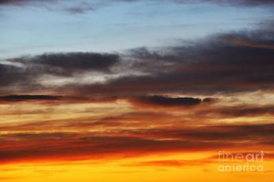 Cloudscape At Sunrise Art Print by Sami Sarkis