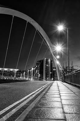 Mean Photograph - Clyde Arc Squinty Bridge by John Farnan