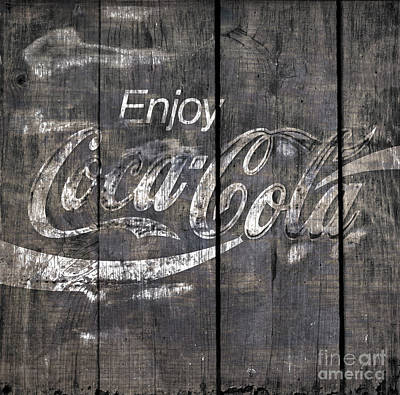 Coca Cola Sign Art Print by John Stephens