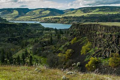 Portland Photograph - Columbia River Gorge One by Josh Whalen