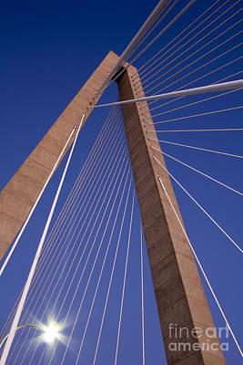 Ravenel Photograph - Cooper River Bridge Charleston Sc by Dustin K Ryan