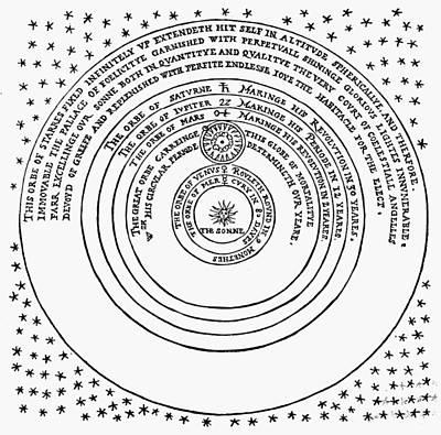 1576 Photograph - Copernican Universe by Granger
