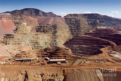 Copper Mine, Arizona, Usa Art Print by Arno Massee