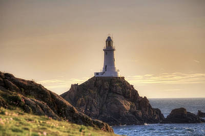 Corbiere Lighthouse - Jersey Art Print by Joana Kruse