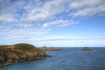 Cornwall - Rumps Point Art Print
