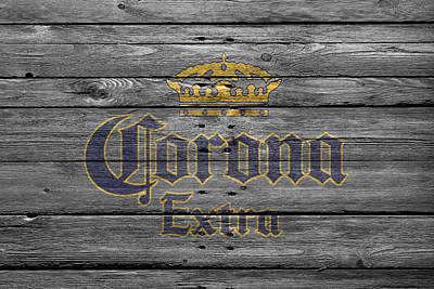 Handcrafted Photograph - Corona Extra by Joe Hamilton