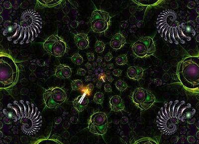 Cosmic Embryos Print by Shawn Dall