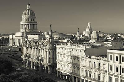 Cuban Photograph - Cuba, Havana, Havana Vieja by Walter Bibikow