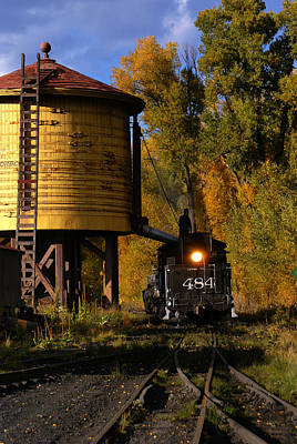 Photograph - Cumbres And Toltec Railroad by Robert Lozen