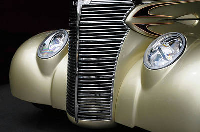 Art Print featuring the photograph Custom Car Detail by Dave Mills