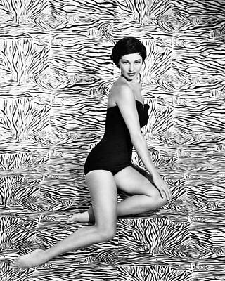 Cyd Charisse Art Print by Silver Screen