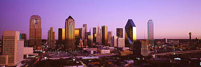 Dallas Skyline Photograph - Dallas, Texas, Usa by Panoramic Images