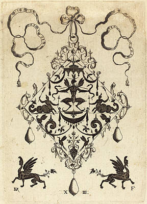 Daniel Mignot German, Active 1593-1596 Art Print by Quint Lox