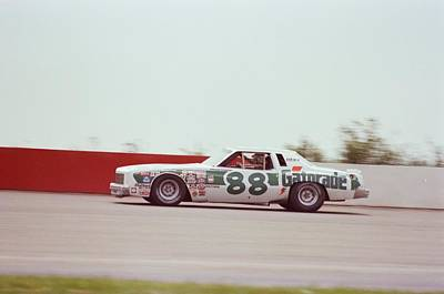 Charlotte Photograph - Darrell Waltrip by Retro Images Archive