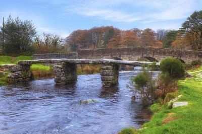 Devon Photograph - Dartmoor - Postbridge by Joana Kruse