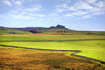Upland Photograph - Dartmoor by Joana Kruse