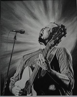 Dave Drawing - Dave Matthews by Charles Rogers