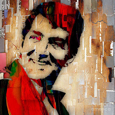 Movie Art Mixed Media - Dean Martin Collection by Marvin Blaine