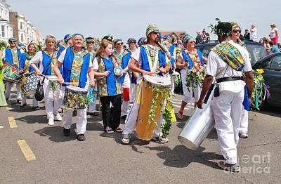 Photograph - Dende Nation Samba Drummers by David Fowler