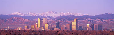Denver Skyline Photograph - Denver, Colorado, Usa by Panoramic Images