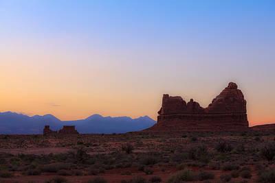 Desert Sunrise Art Print by Jonathan Gewirtz