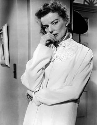 Desk Set, Katharine Hepburn, 1957 Art Print