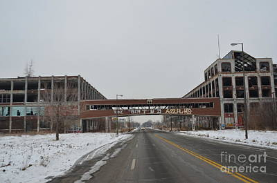 Photograph - Detroit Packard Plant by Randy J Heath