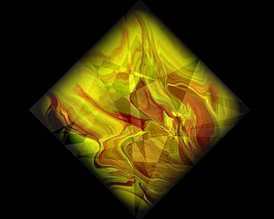 Color Painting - Diamond 105 by J D Owen