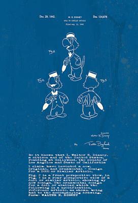 Digital Art - Disney Jose Carioca by Marlene Watson