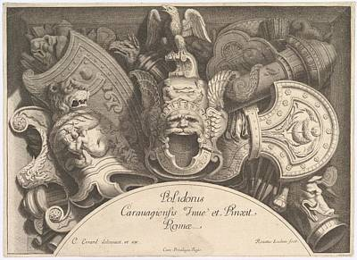 Divers Troph�es Weapon Trophies Art Print by Polidoro da Caravaggio