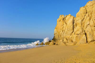 Divorce Beach, Cabo San Lucas, Baja Art Print by Douglas Peebles