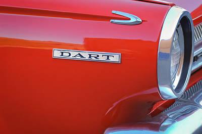 Dodge - Plymouth - Chrysler Automobiles Photograph - Dodge Dart Emblem by Jill Reger