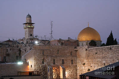 Photograph - Dome Of The Rock In Israel by Doc Braham
