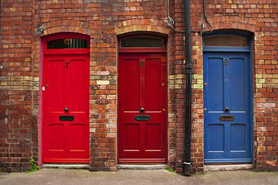 Photograph - 3 Doors by E j Carr