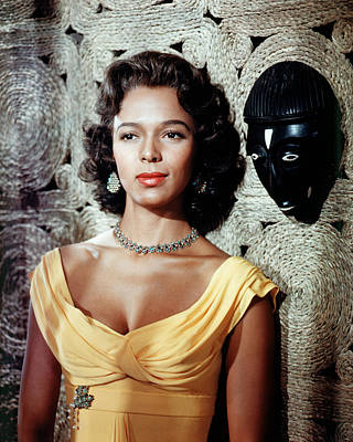 Dorothy Photograph - Dorothy Dandridge by Silver Screen