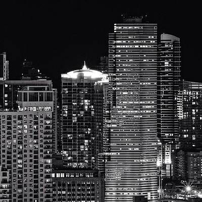 Skylines Photograph - Downtown - Miami by Joel Lopez