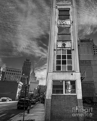 Synagogue Photograph - Downtown Synagogue In Detroit by Twenty Two North Photography
