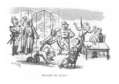 Information Drawing - Dreams Of Glory by William Steig