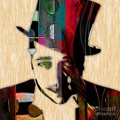 Piano Mixed Media - Duke Ellington Collection by Marvin Blaine