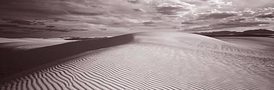Dunes, White Sands, New Mexico, Usa Art Print
