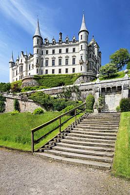 Photograph - Dunrobin Castle by Grant Glendinning